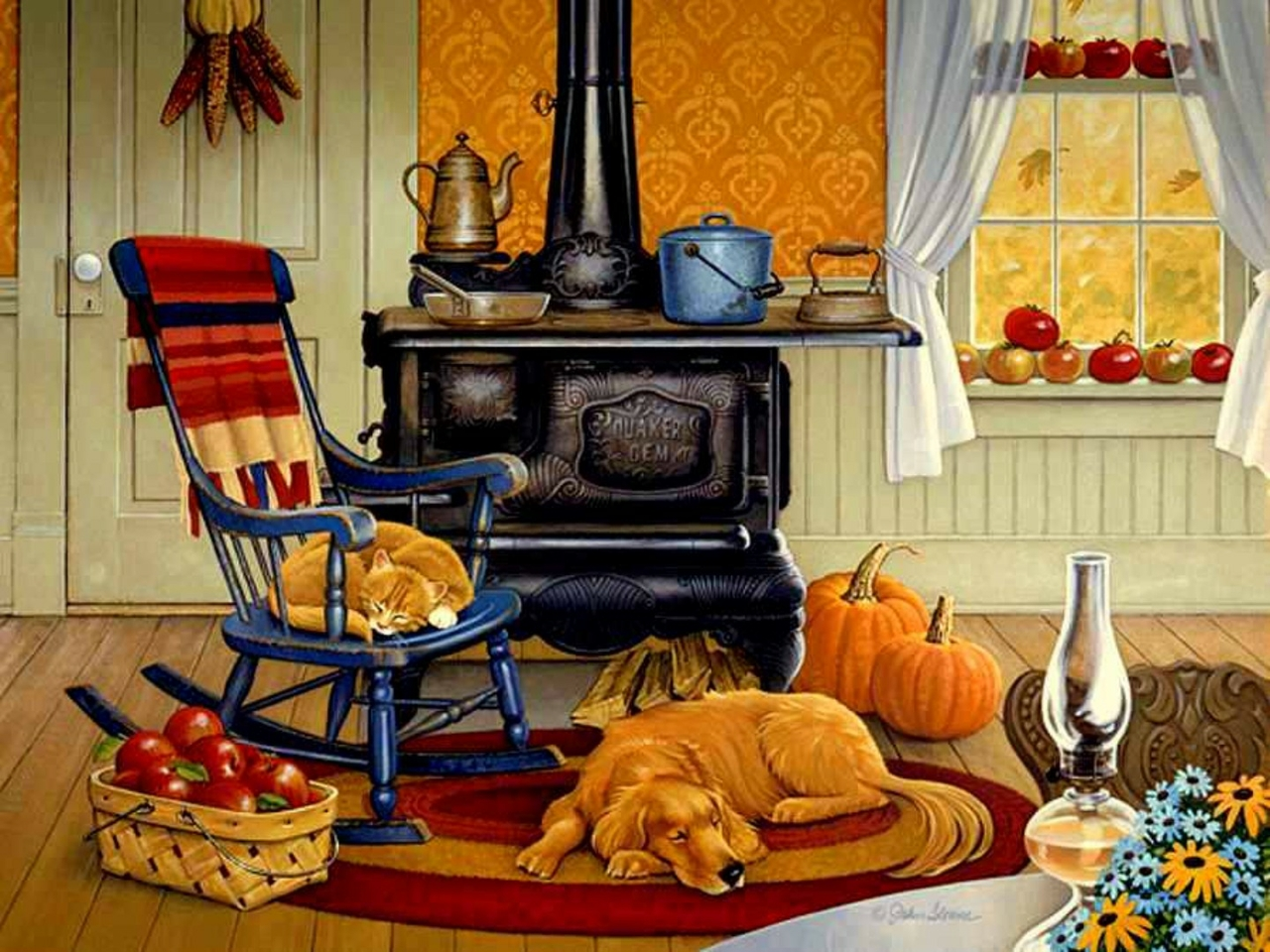 1280x960 Warm And Cozy Wallpaper Download 1280x960