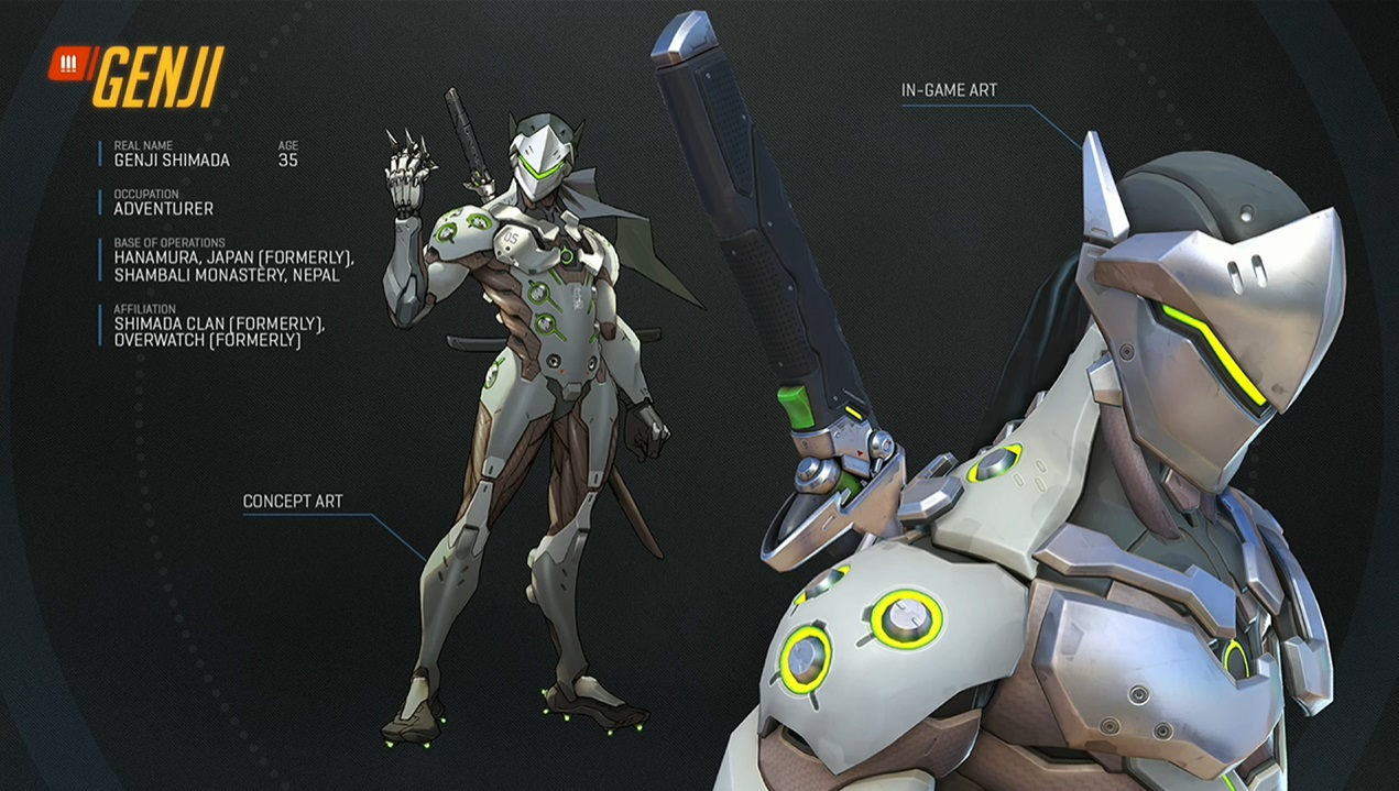 Overwatch Das knnen die drei neuen Helden Mei DVa und Genji 1271x719