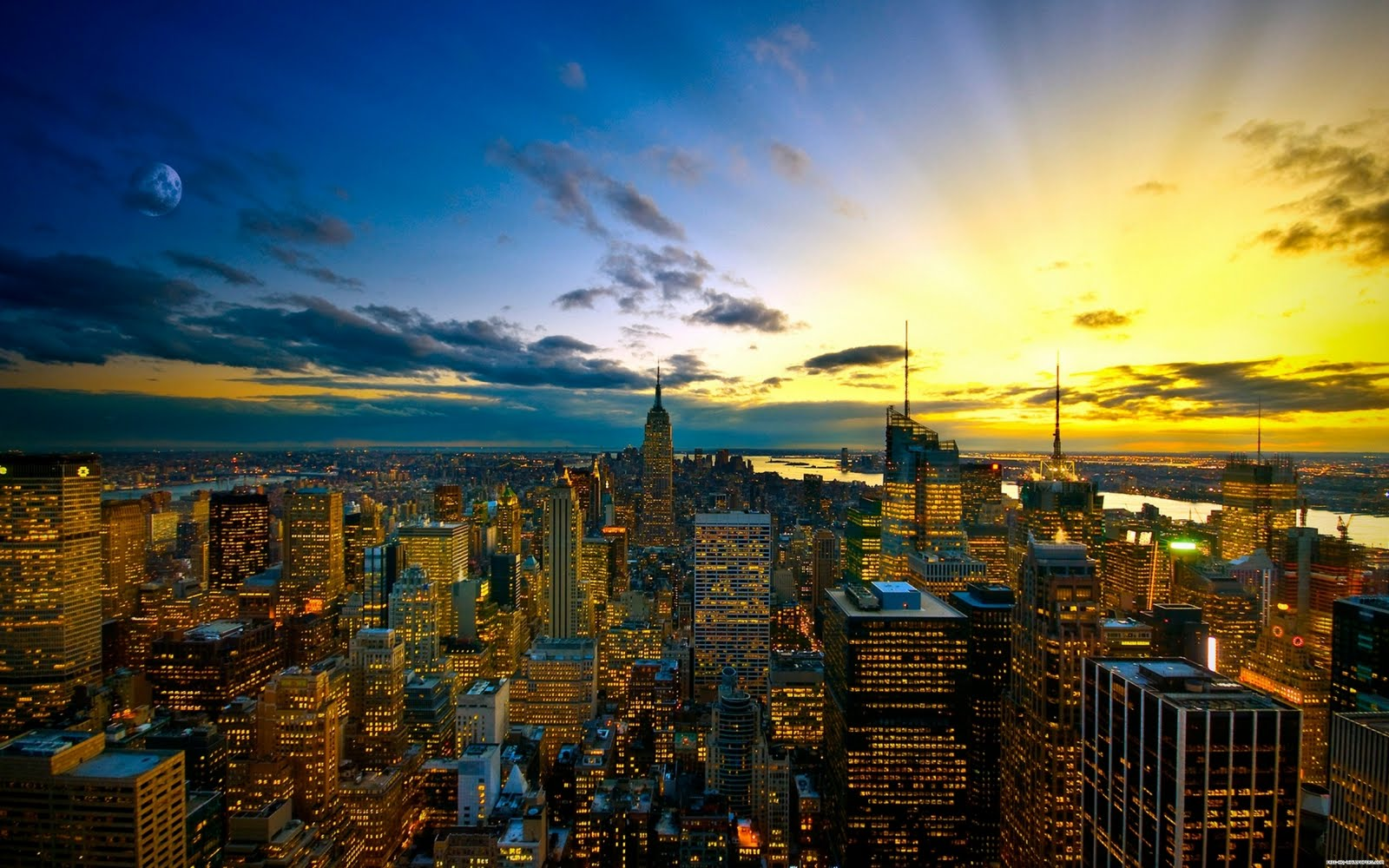 New York City Skyline Wallpapers Live HD Wallpaper HQ Pictures 1600x1000