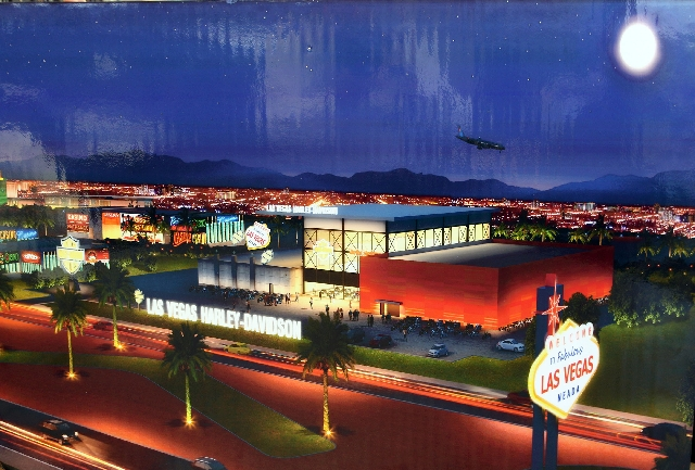 Biggest harley davidson store las vegas   photo download wallpaper 640x433