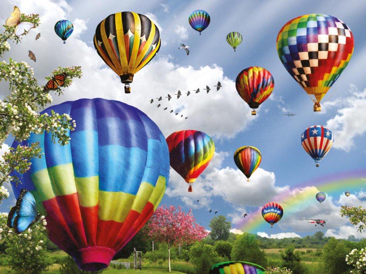 Air Balloons Computer Wallpapers Desktop Backgrounds 1280x960 ID 1280x960
