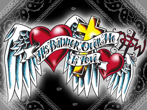 Heart Cross PC Wallpaper Flickr   Photo Sharing 500x375