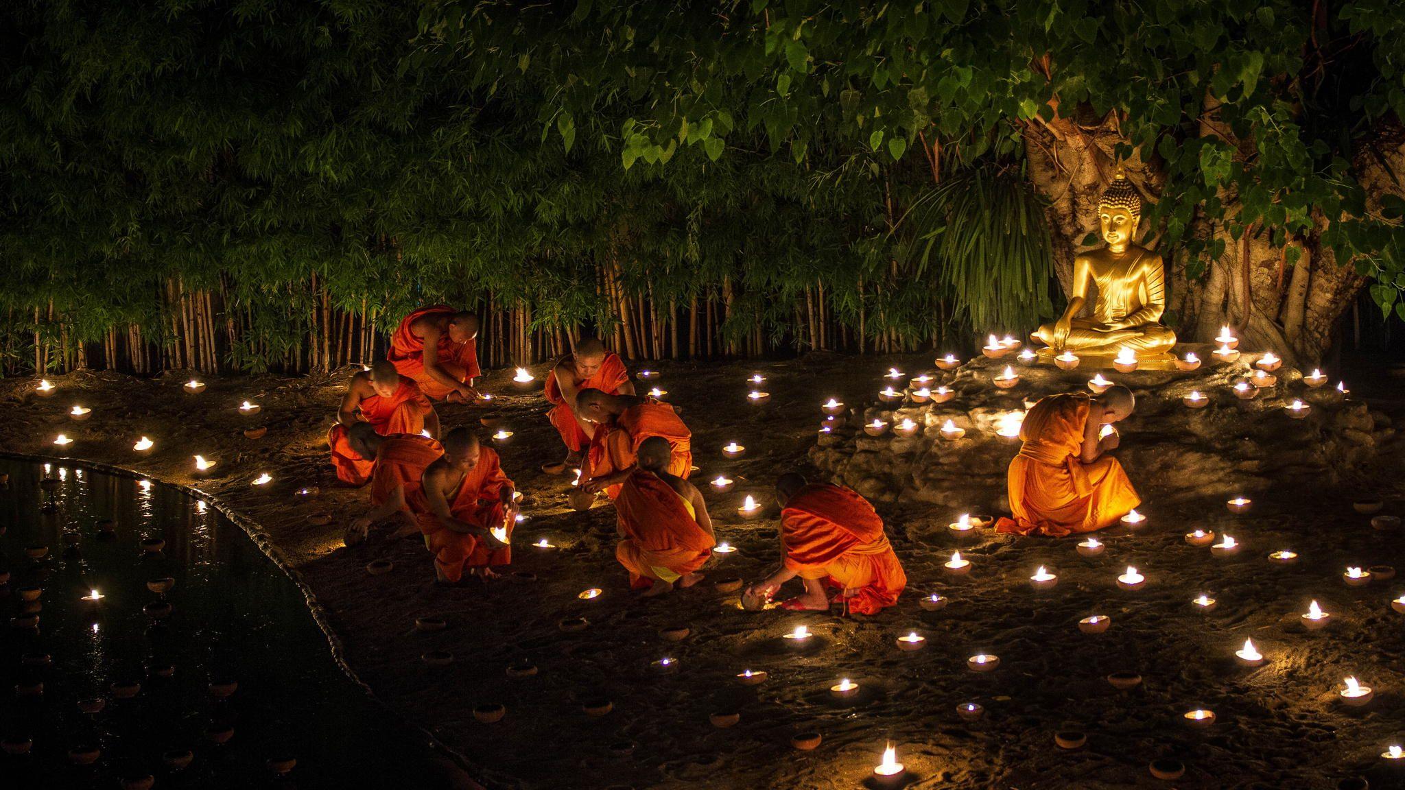 Faith   Asalha Puja Asanha Bucha Celebration Day Canon EOS 7D 2048x1152
