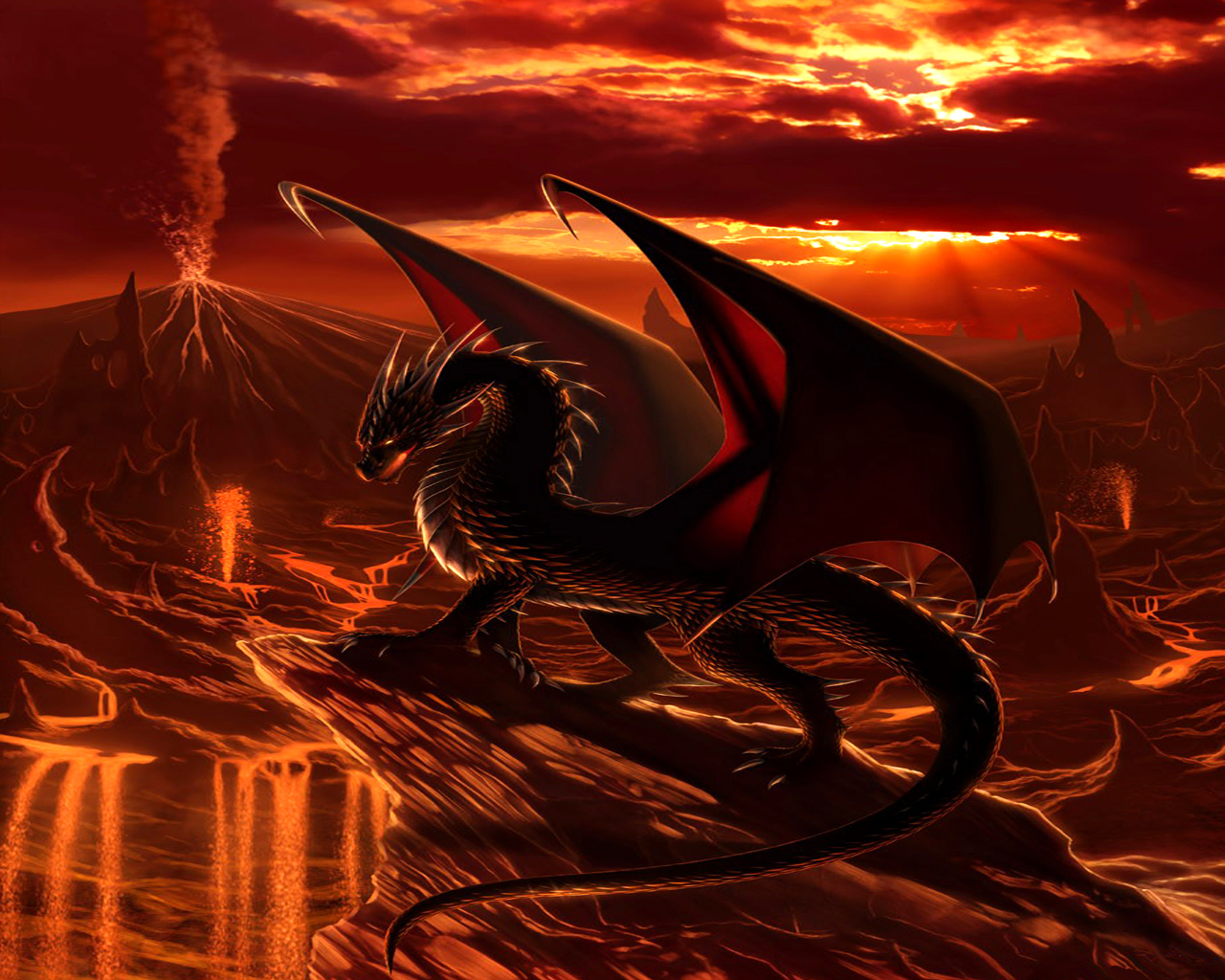 Dragons images Dragon Wallpaper wallpaper photos 13975550 1280x1024