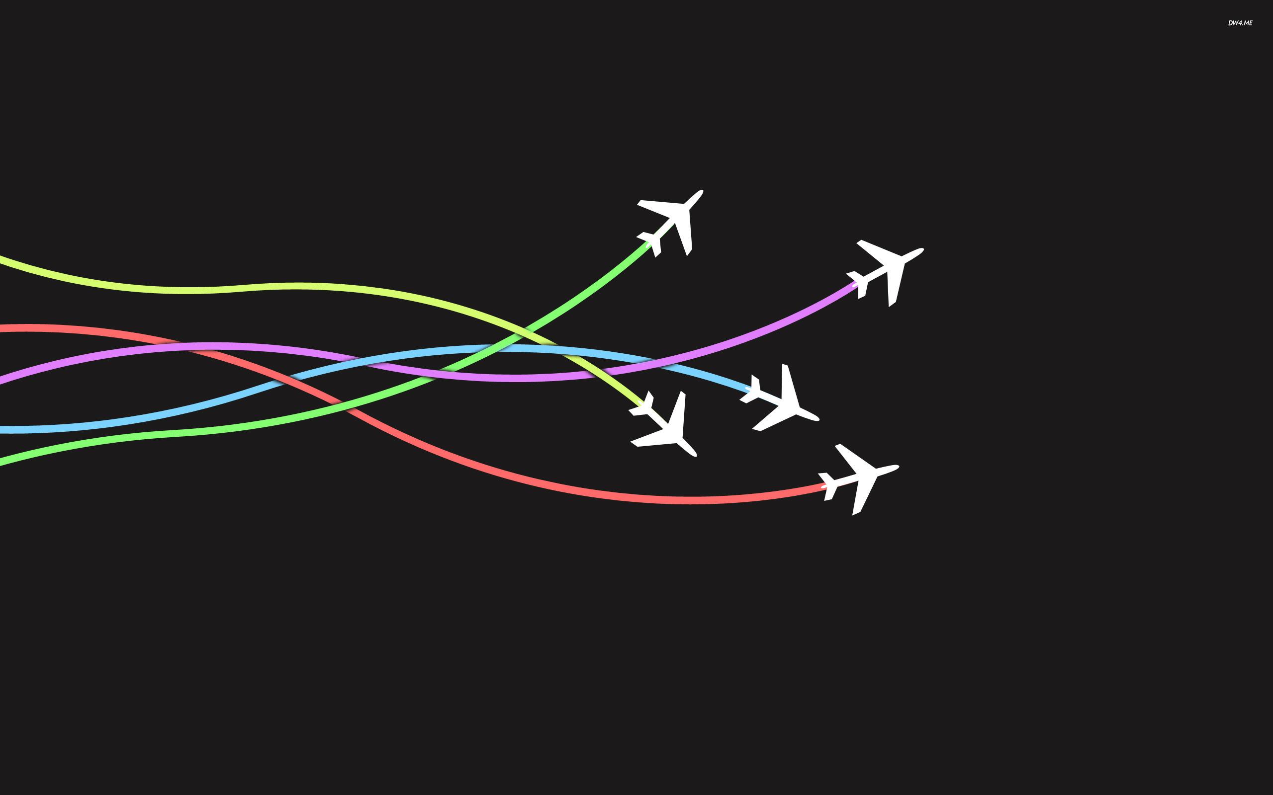 20 more minimalistic airplane plane 1036 Vintage 2560x1600