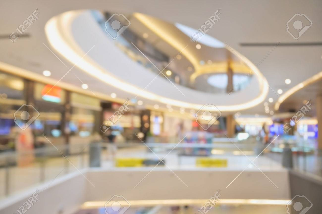 Blurred Beautiful Shopping Mall Background Stock Photo Picture 1300x866