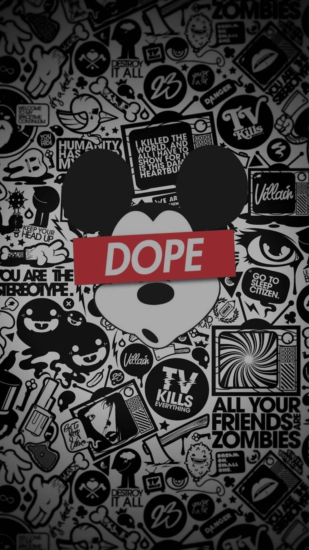 Mickey Mouse Dope iPhone Wallpapers   Top Mickey Mouse Dope 1080x1920
