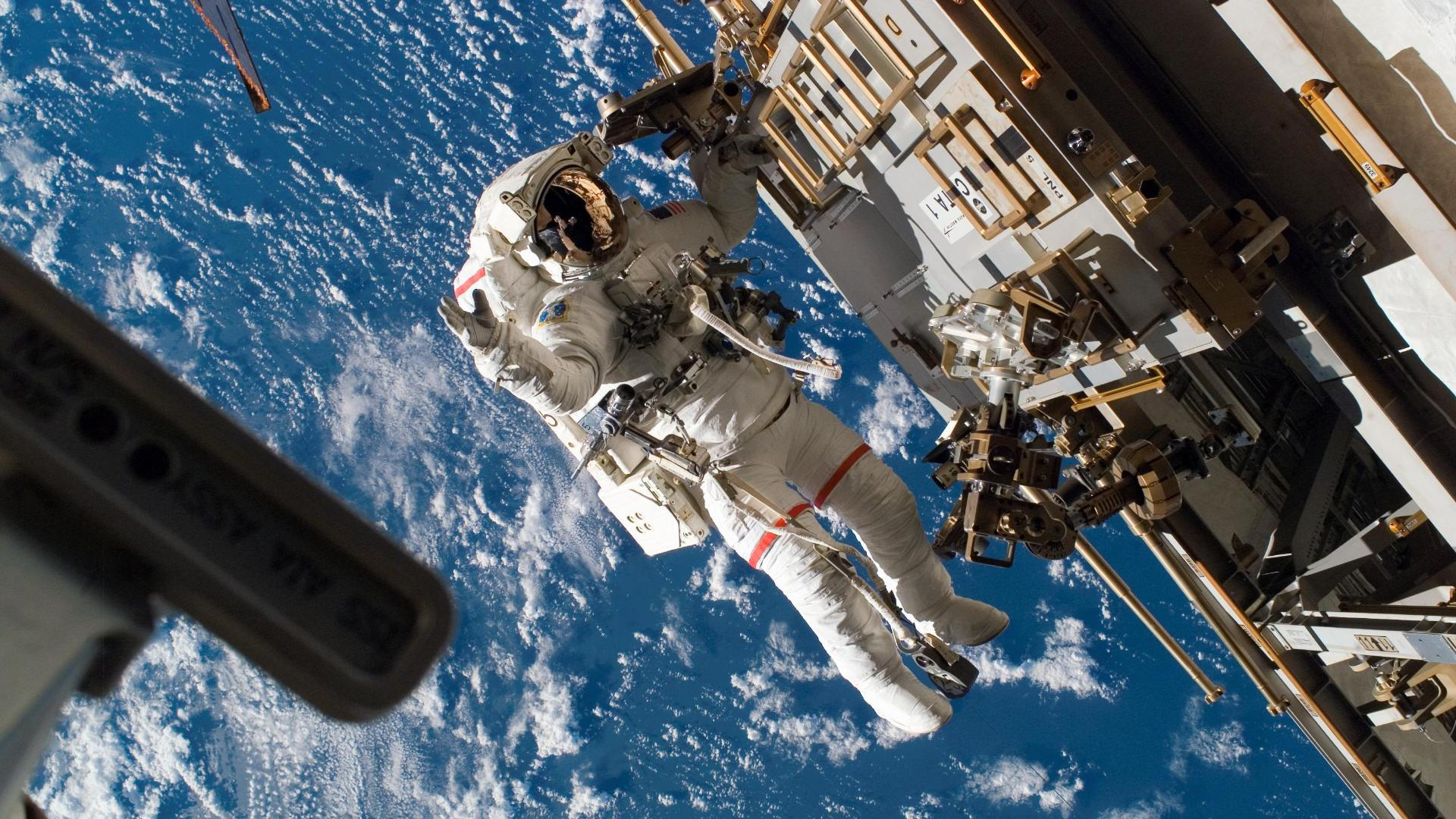Astronaut In Space HD Wallpaper 1920x1080 ID18305 1920x1080