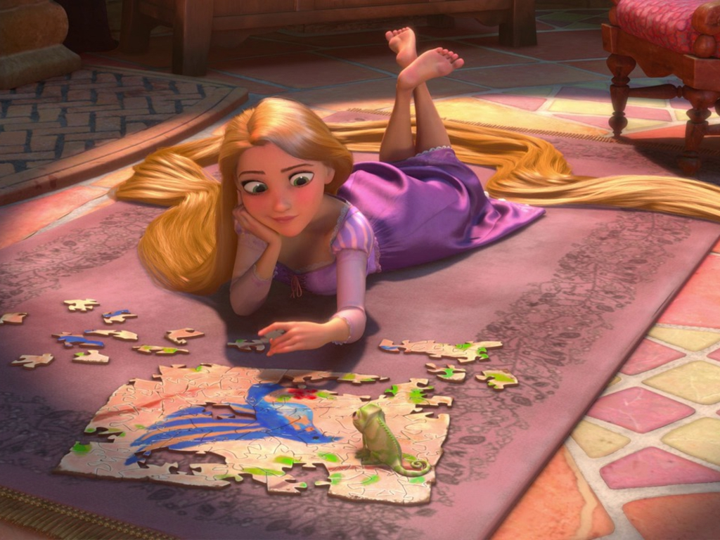 Rapunzel Wallpaper Download 1024x768