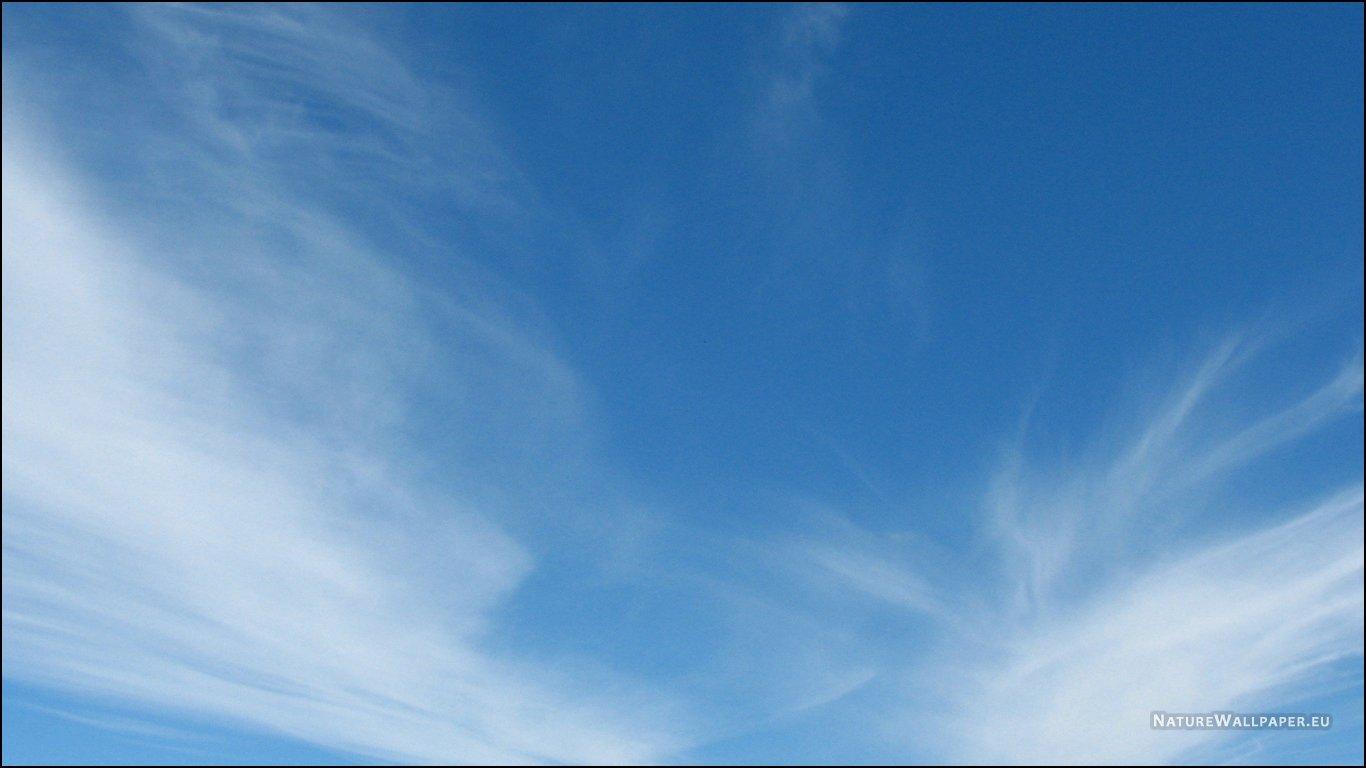 Blue Sky Background Wallpaper