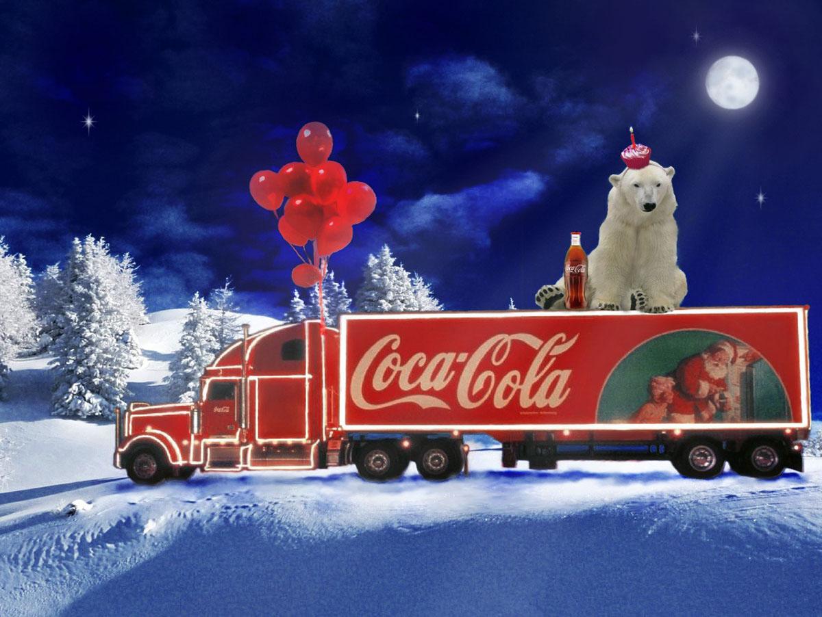 Coca Cola Christmas Wallpaper - WallpaperSafari