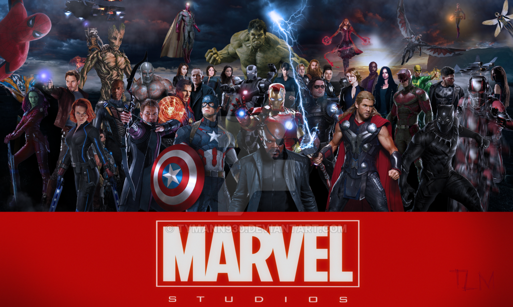 Marvel Cinematic Universe by TyMann930 1024x614