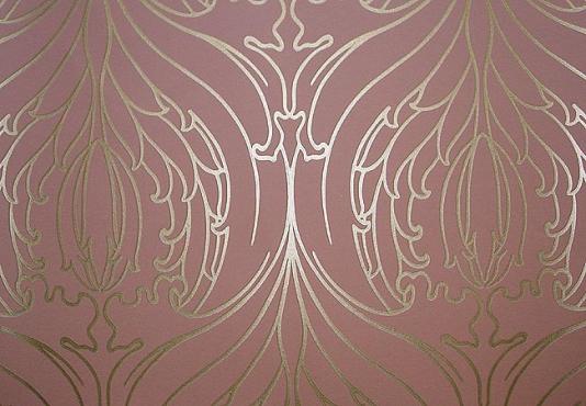 Art Deco Wallpaper Tulip Damask Wallpaper 534x370