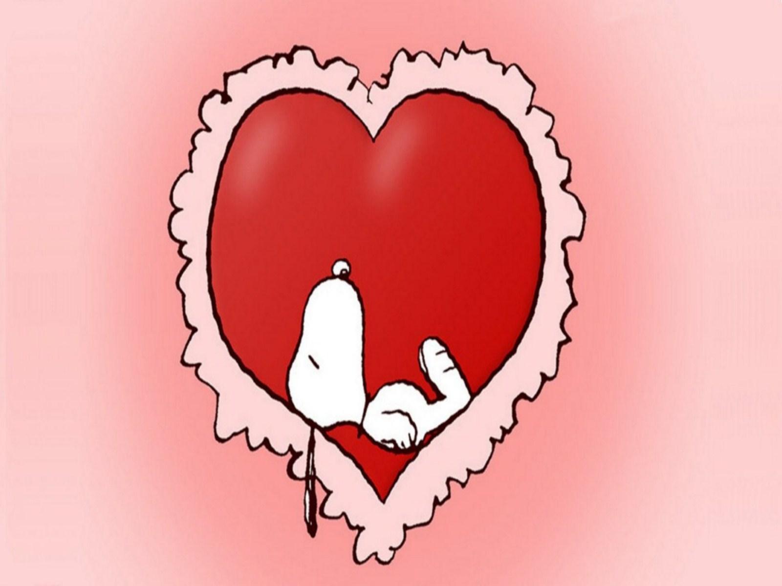 Wallpaper Snoopy Love Valentine Computer Desktop Funny   Doblelol 1600x1200