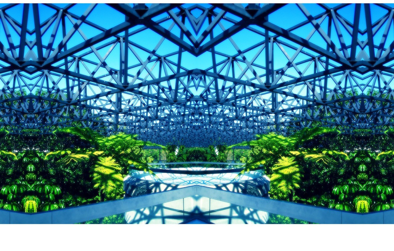 Wallpaper bright design steel vegetation greenhouse images for 1332x850
