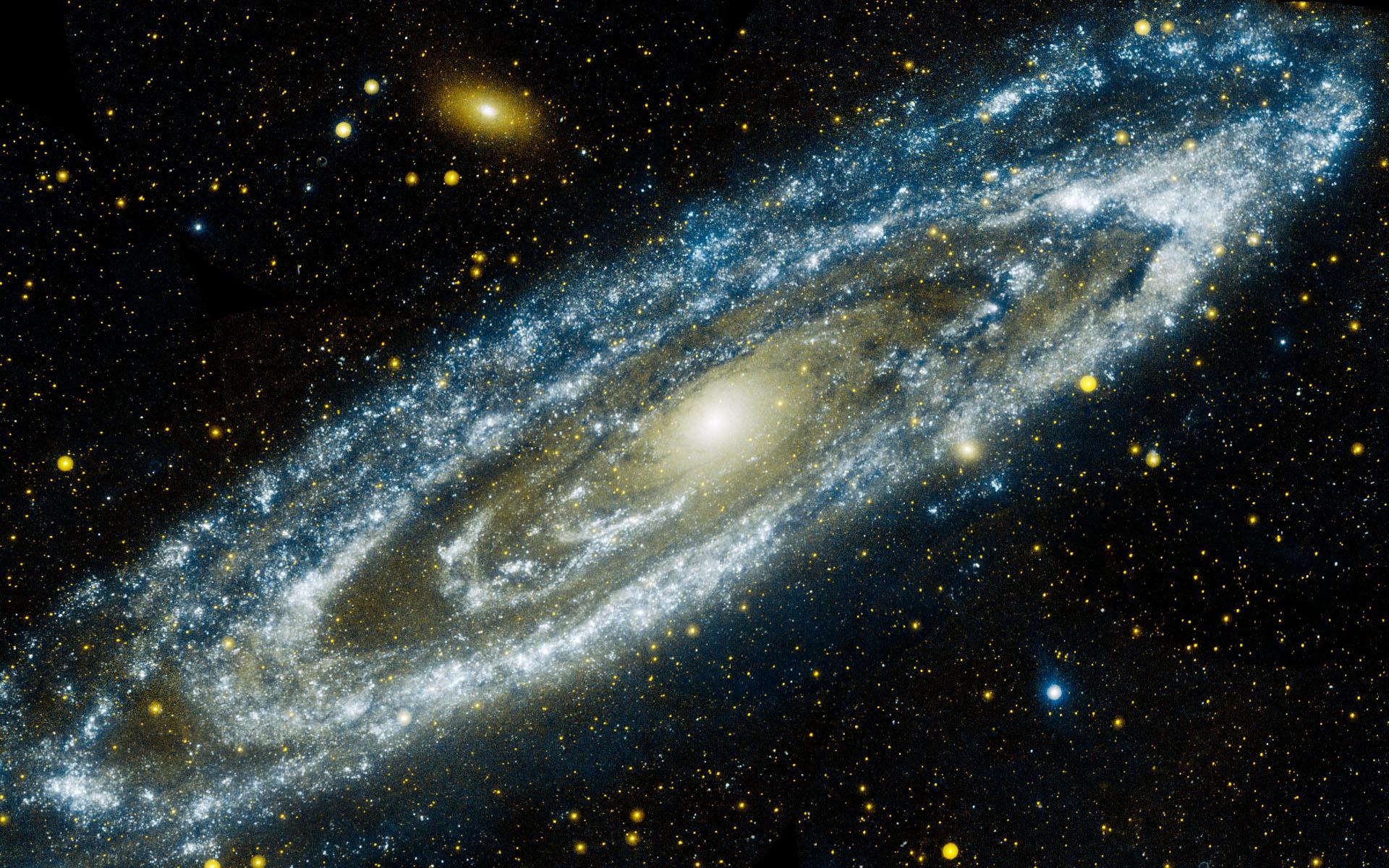 Andromeda Galaxy fond ecran hd 1920x1200