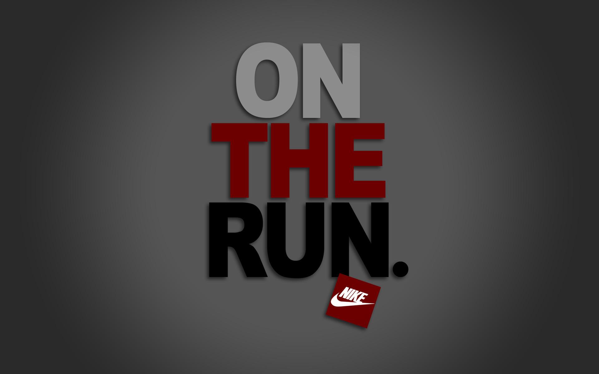 Nike On The Run HD Desktop Mobile Wallpaper Background   9walls 1920x1200
