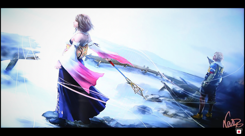 New Final Fantasy X Artwork Wallpaper Edit SQUARE PORTAL 1038x576