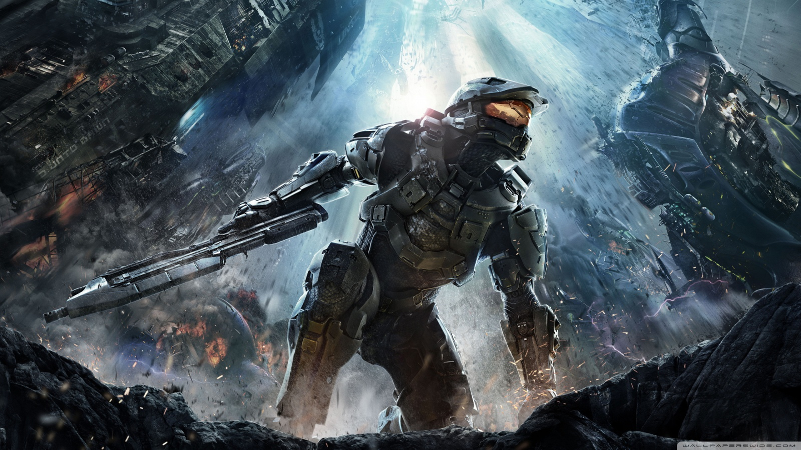 Halo 4 Logo Wallpapers Hd Wallpapers Nature 1600x900