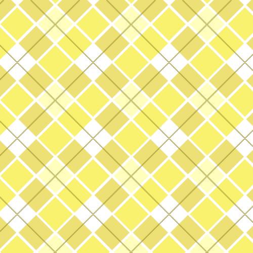 Checkered Wallpaper: Yellow Plaid Wallpaper