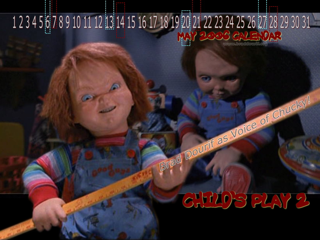 CHILDS PLAY 2 CHUCKY WALLPAPER 1024x768