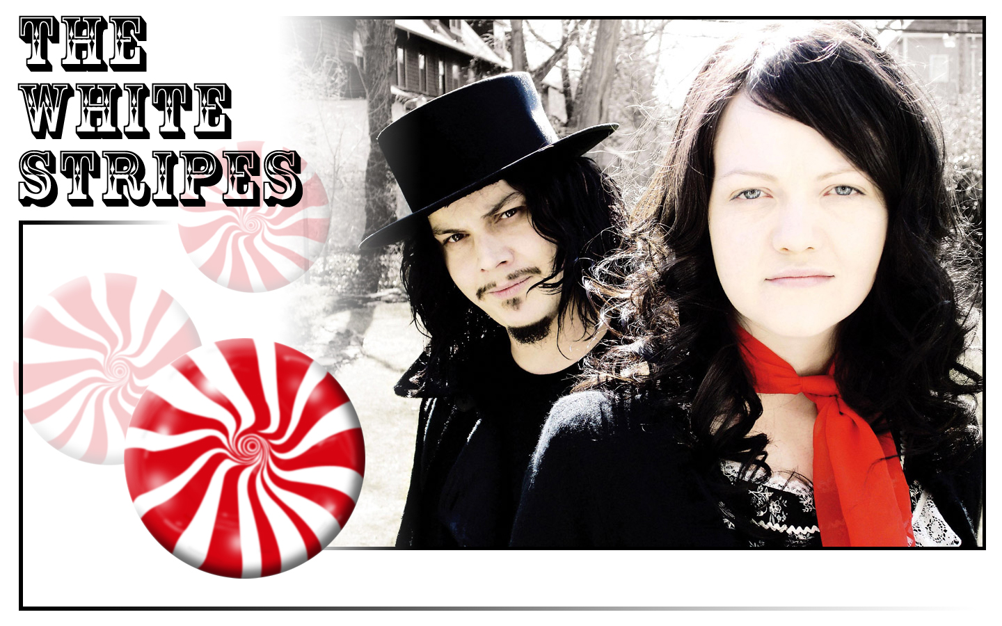 The White Stripes   The White Stripes Wallpaper 25136910 1440x900