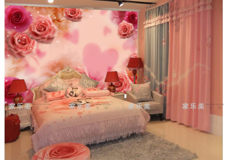 Free download wedding house bedroom bed wall wallpaper ...