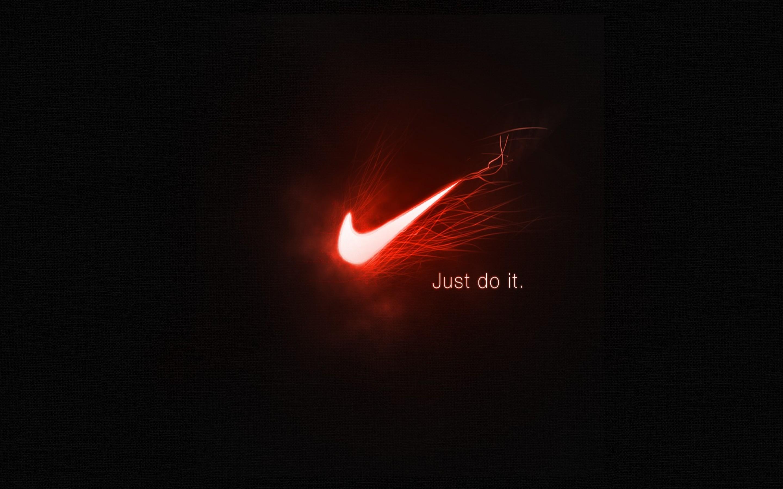 Sport Wallpaper Just Do It: Black Nike Wallpaper