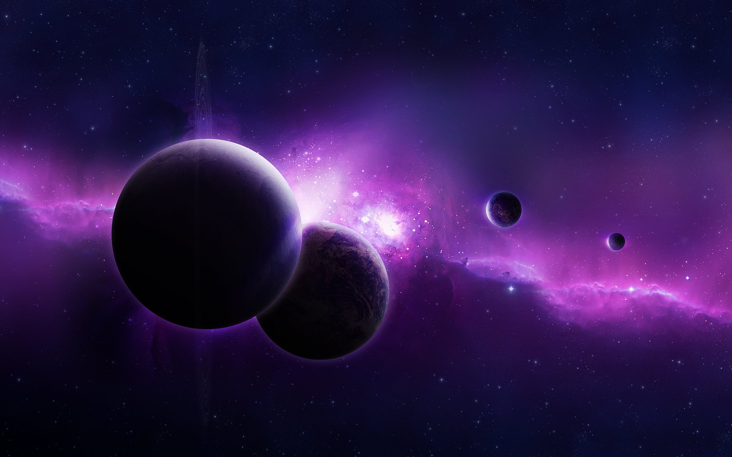 Purple Universe Wallpapers HD Wallpapers 2560x1600
