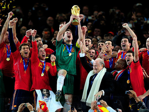Spain National Football Team images Spain win World Cup HD 500x375