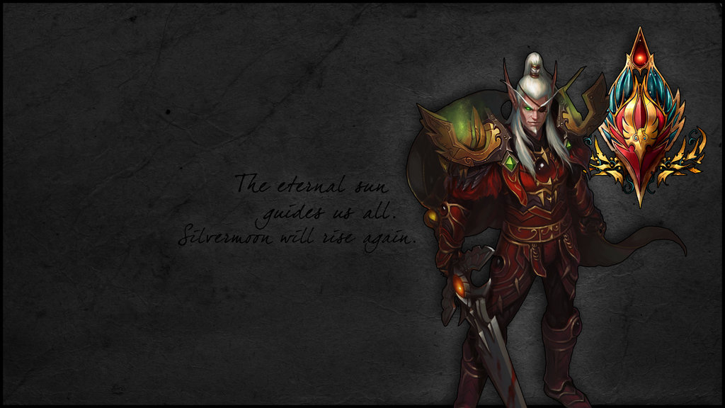 Blood Elf Wallpaper Wallpapersafari