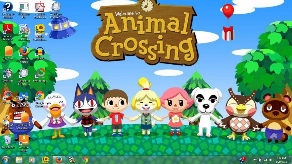 Free Download My Animal Crossing Desktop Background By
