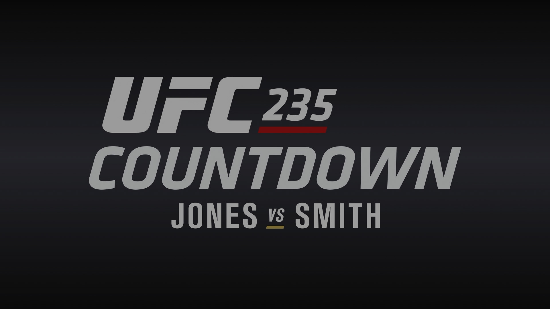 UFC 235 Countdown Full Episode UFC 1920x1080
