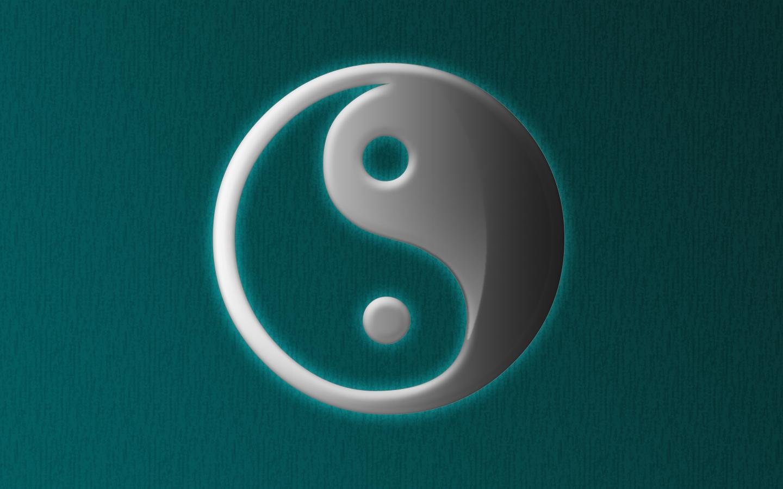 Ying Yang Backgrounds 1440x900