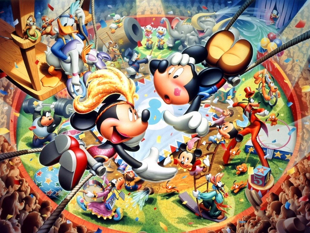disney wallpaper Disney Characters Wallpapers 1024x768