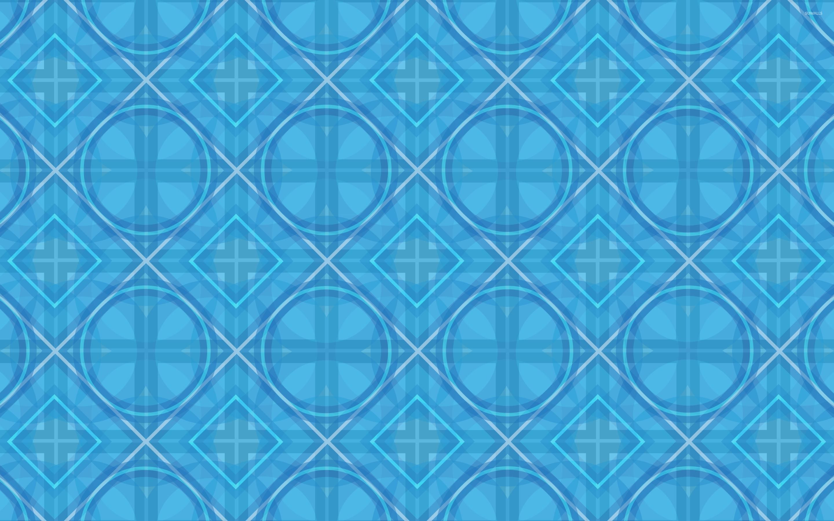 Free Download Blue Diamond Pattern Wallpaper Abstract Wallpapers