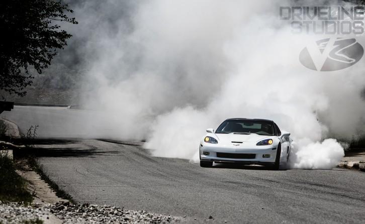 Corvette Burnout Wallpaper WallpaperSafari