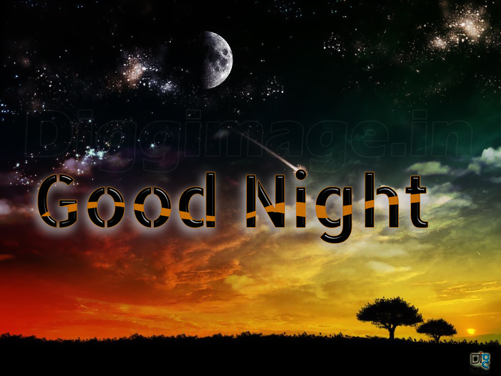 Good Night Wallpapers 1024x768