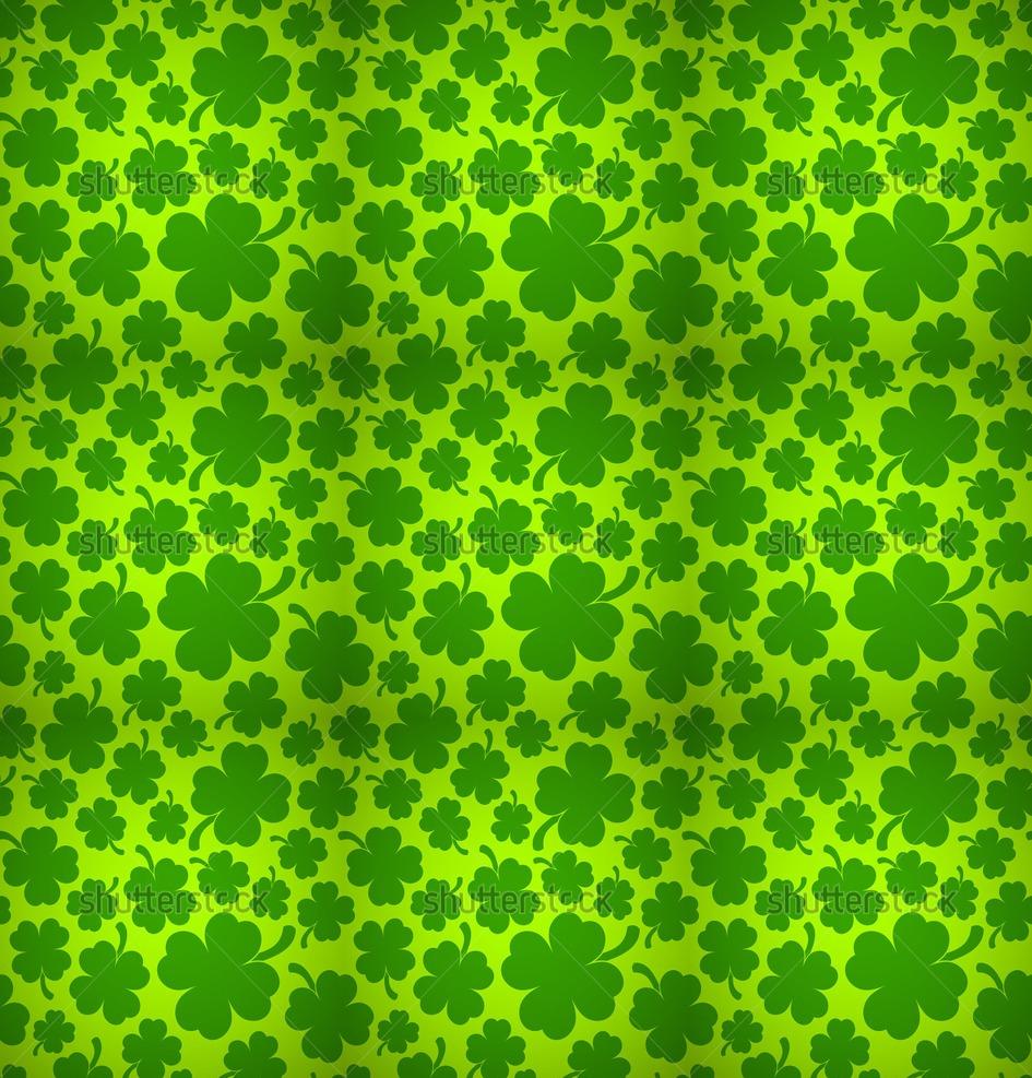 Four Leaf Clover Background 945x987