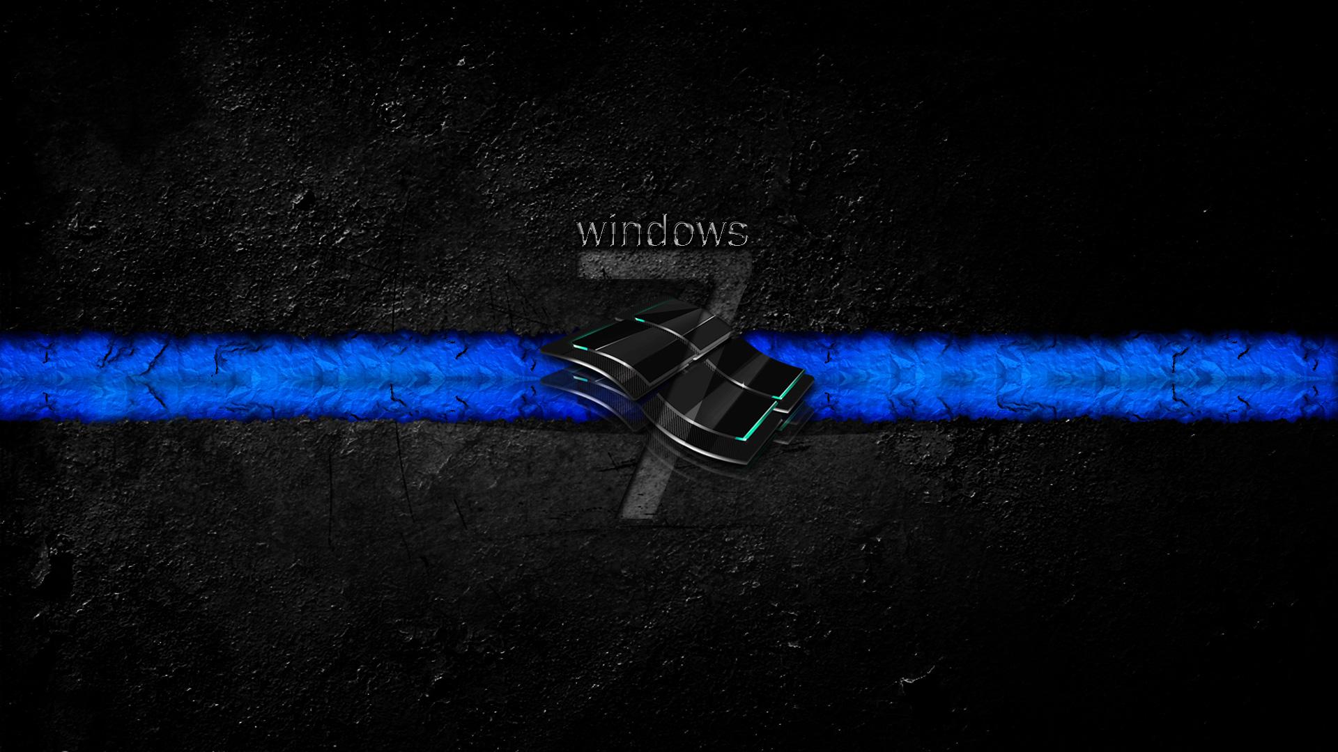Windows 7 Dirty Dark Wallpapers | HD Wallpapers