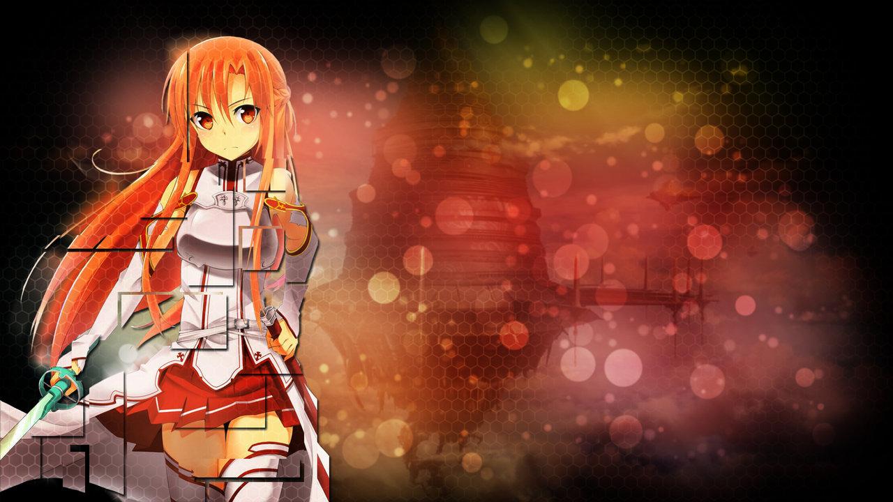 sao asuna wallpaper by b1itzsturm fan art wallpaper movies tv 2012 1280x720