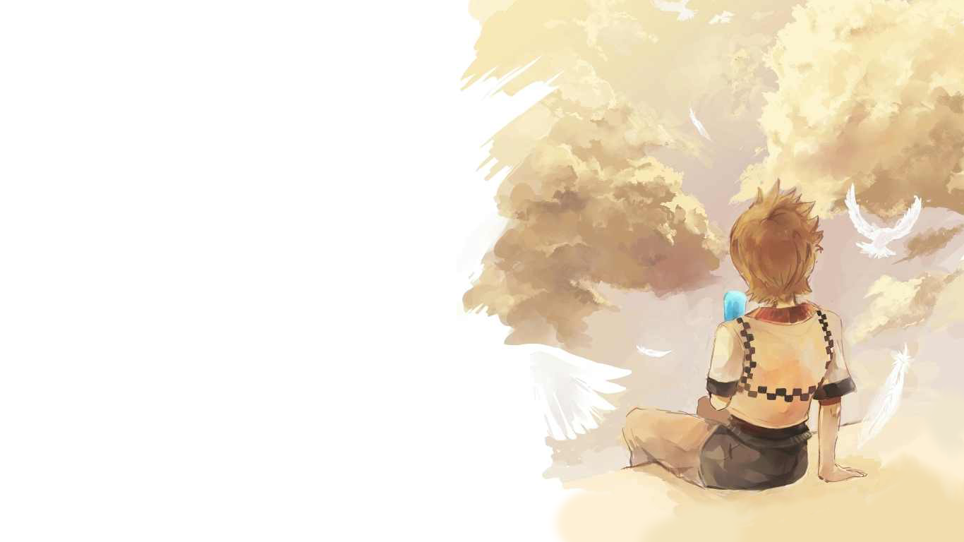 Roxas wallpaper   Kingdom Hearts Photo 37761075 1366x768