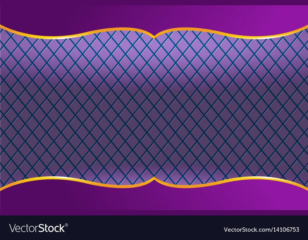 Thai frame luxury violet background Royalty Vector 1000x780