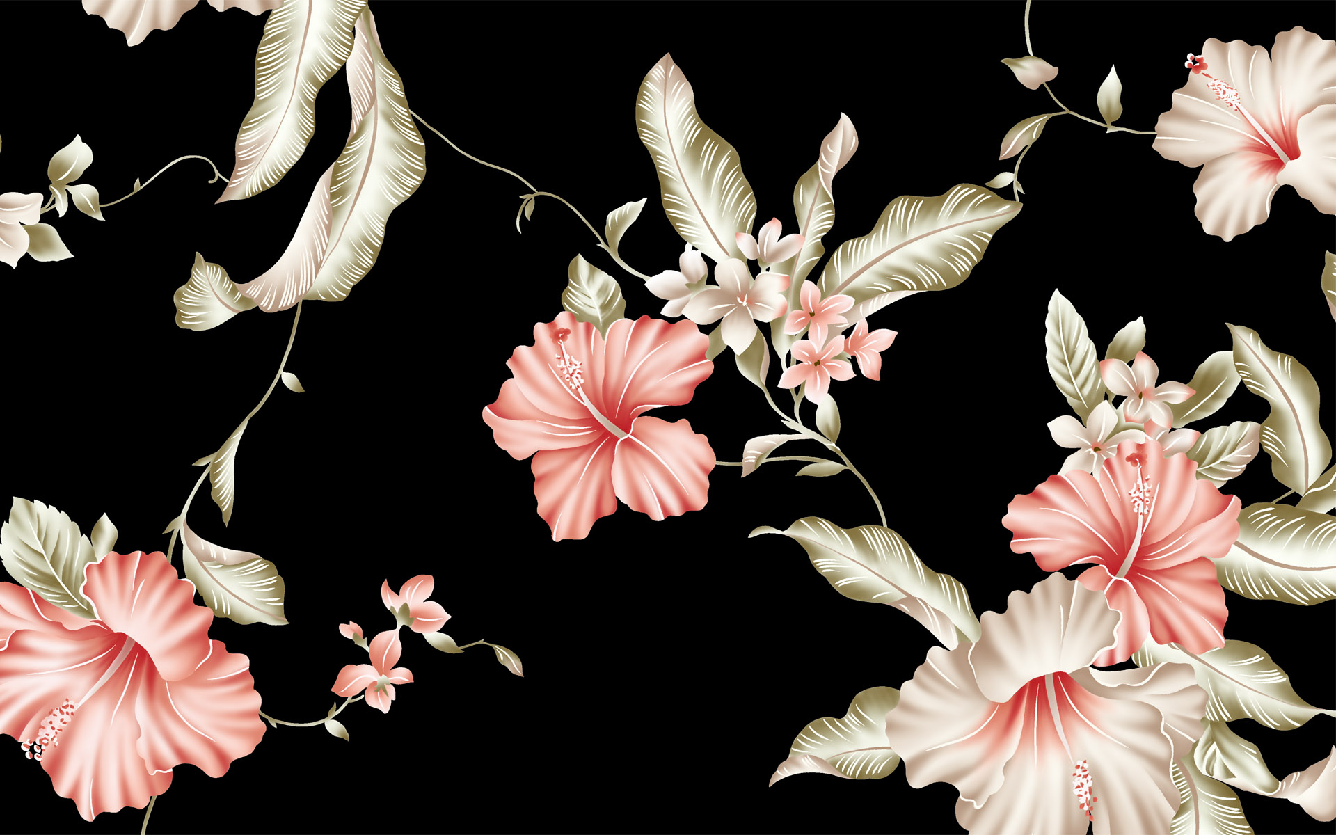 74 Floral Desktop Backgrounds On Wallpapersafari