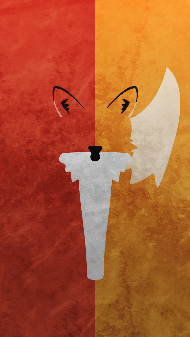 Artistic Fox iPhone Wallpapers   IPhone 5 iPhone 640x1136