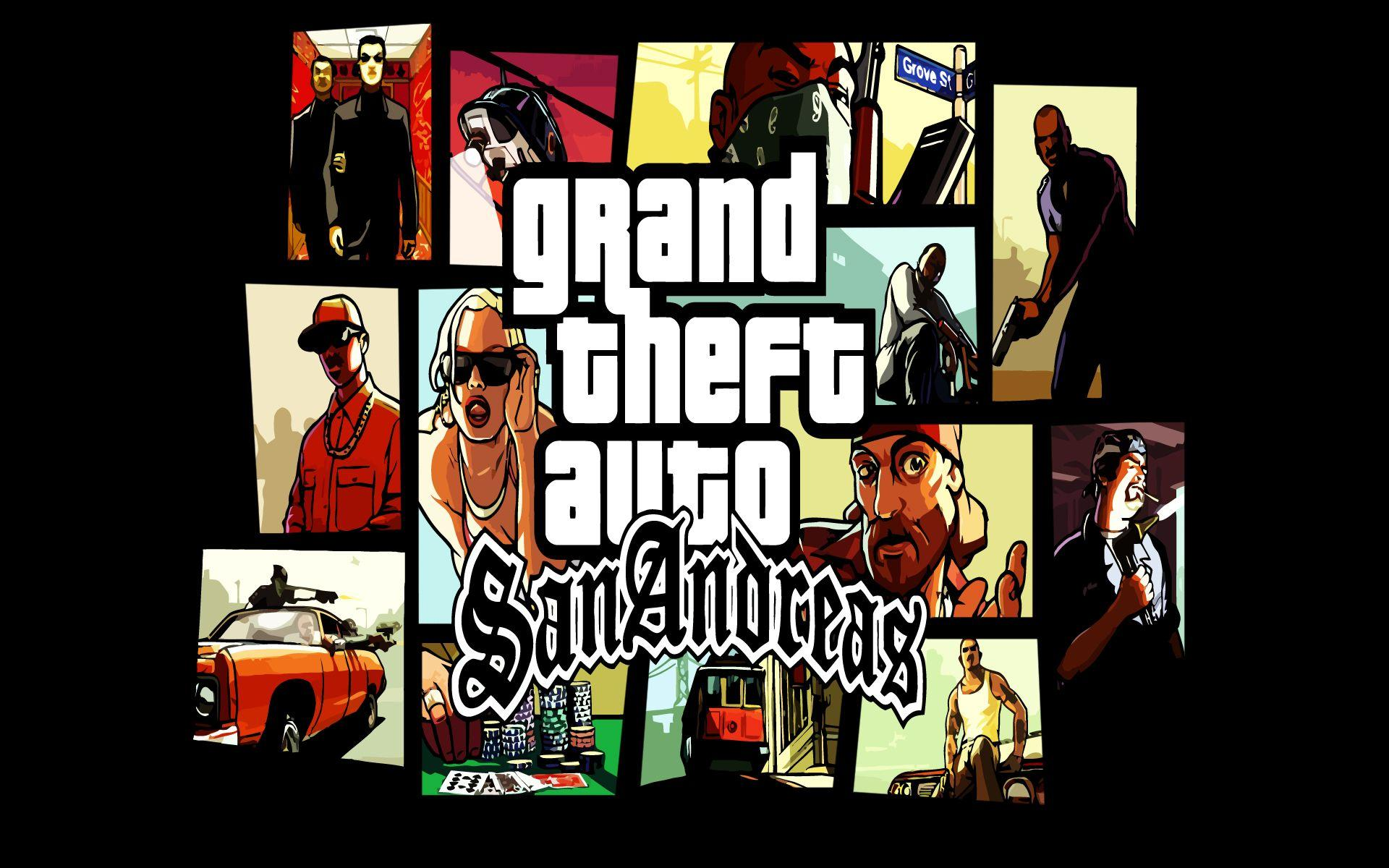 Free Download Grand Theft Auto San Andreas Wallpapers 1920x1200