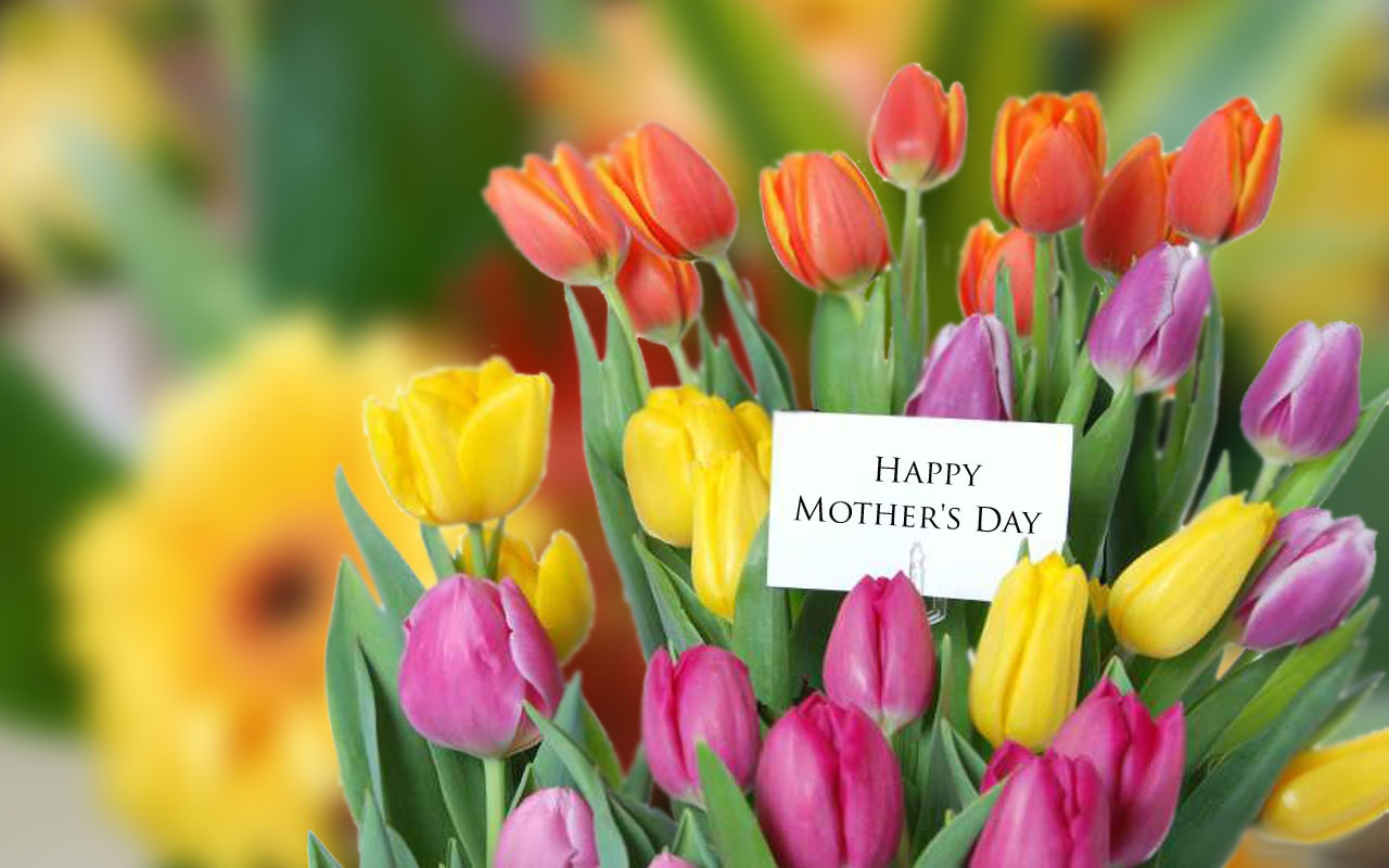 Home Holidays Mothers Day Happy Mothers Day Flowers 1280x800