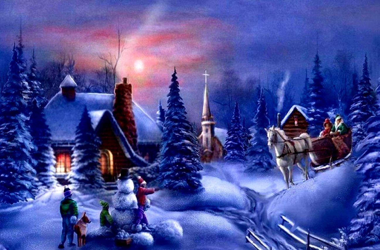 Christmas Wallpaper Computer Spot Wallpapers 1296x855