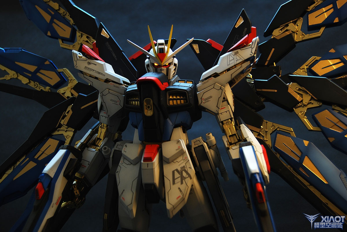 Freedom Gundam Improved Painted Build Photoreview No11 Wallpaper 1200x803