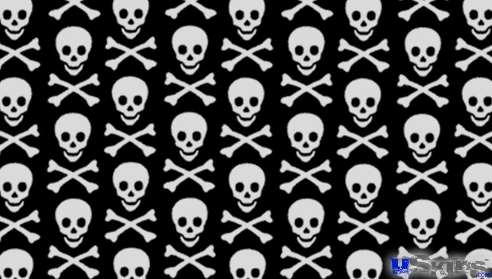 Skull Crossbones Wallpaper - WallpaperSafari
